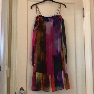 XL Floreat by Anthropology dress. Off shoulder